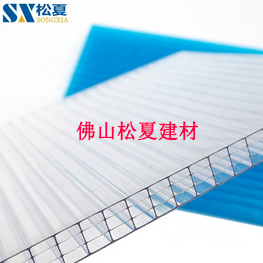 PC阳光板四层水印-松夏建材.