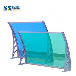 无声雨棚_阳光板耐力板雨棚